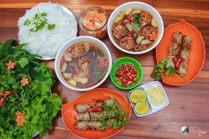 Bún chả cội nguồn của văn hóa ẩm thực Hà Thành1