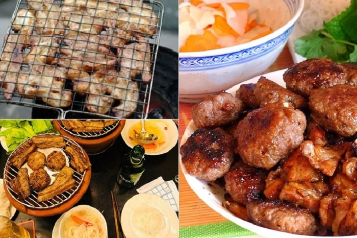 Bún chả cội nguồn của văn hóa ẩm thực Hà Thành2