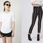 Cách biến tấu chiếc áo phông trắng theo nhiều phong cách cực đơn giản 3