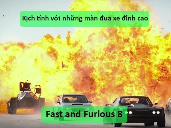 u201cFast and Furious 8u201d u2013 Ku1ecbch tu00ednh vu1edbi nhu1eefng mu00e0n u0111ua xe u0111u1ec9nh cao