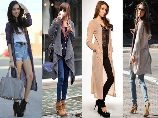 10 kiểu mix áo cadigan với quần áo trẻ trung, sành điệu 1