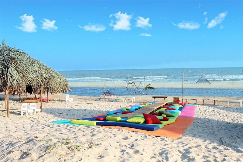 Bãi biển Coco Beach Camp