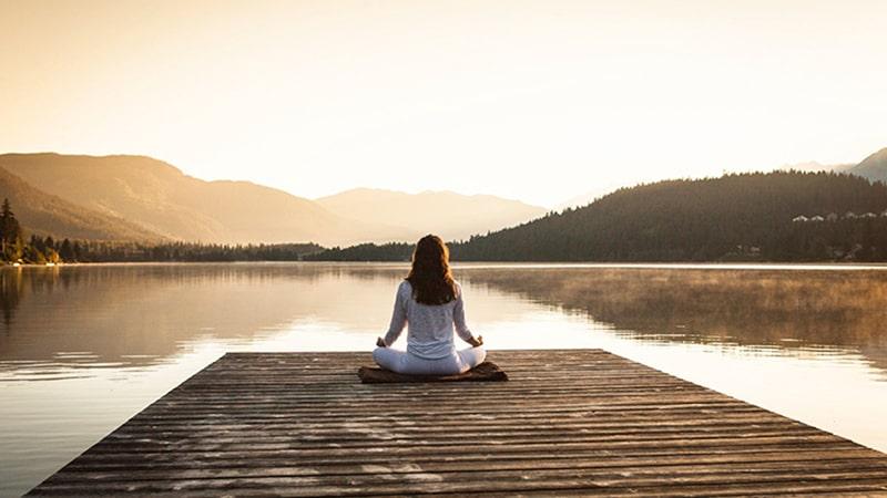 Thiền giúp con người tĩnh tâm, điều hòa cảm xúc trong cơ thể