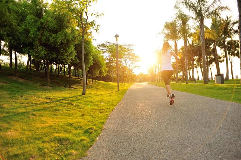 Chạy bộ giúp giải tỏa cảm xúc chán nản