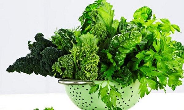 Rau chứa nhiều vitamin tốt cho bộ não