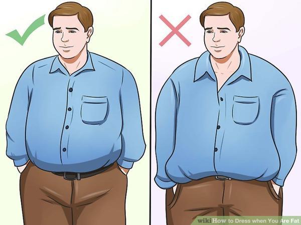 Bạn nam nên chọn quần áo vừa vặn với hình thể của mình