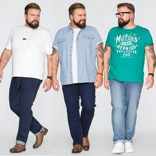 Bạn nam béo bụng nên mặc quần ống đứng