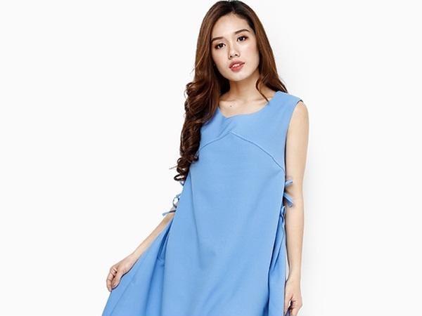 Váy dáng suông sẽ che được khuyết điểm vùng bụng