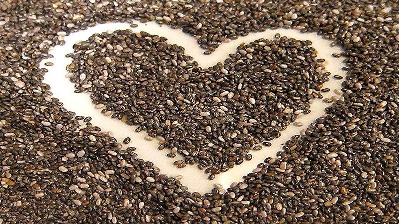 hạt Chia giúp tăng cường sức khỏe tim mạch