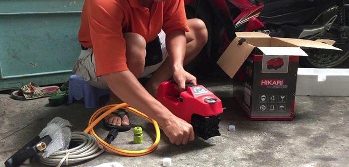 Tại sao máy rửa xe bị yếu và cách khắc phục như thế nào?
