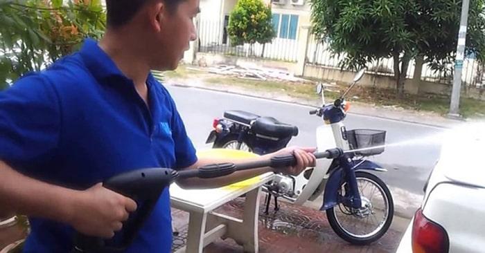 Tại sao máy rửa xe bị yếu?