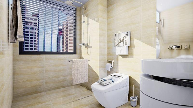 Gạch ốp tường nhà tắm quan trọng nhất là tạo nên sự thoải mái