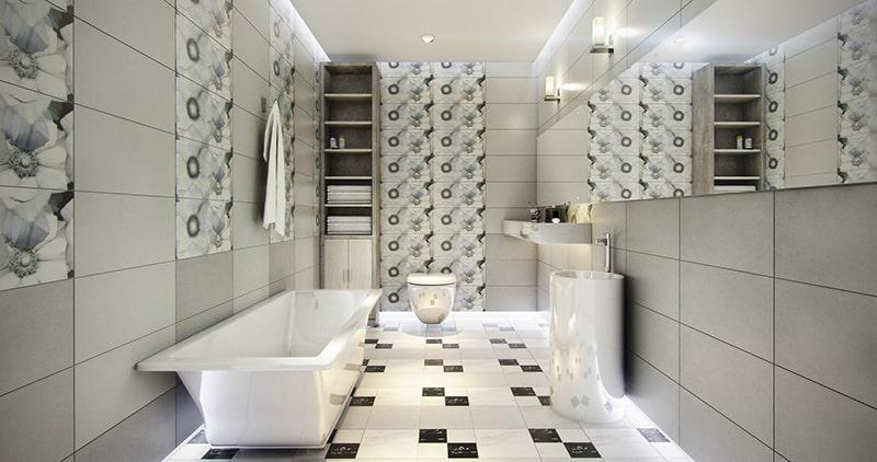 Gạch ốp nhà tắm giá bao nhiêu đôi khi còn phụ thuộc vào địa chỉ mua hàng