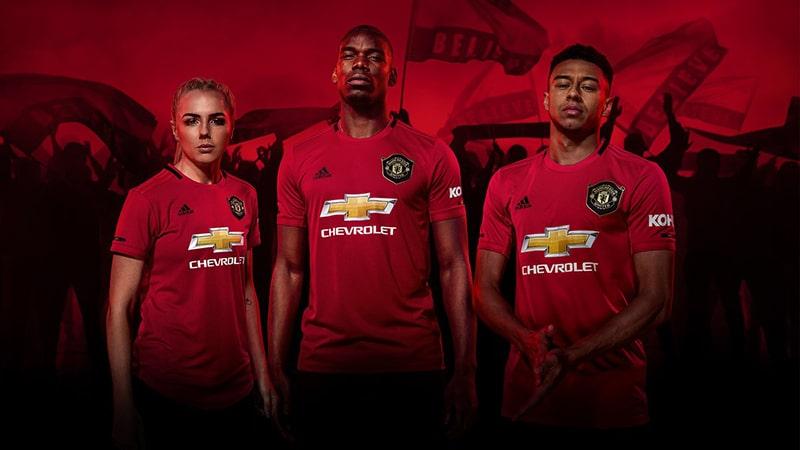 Mẫu áo bóng đá mới lạ trên sân nhà của Manchester United mùa giải 2019