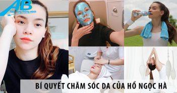 Học theo cách chăm sóc da của Hồ Ngọc Hà6
