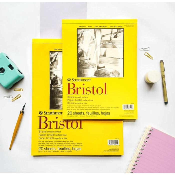Giấy Bristol có thể dùng trong in bưu thiếp