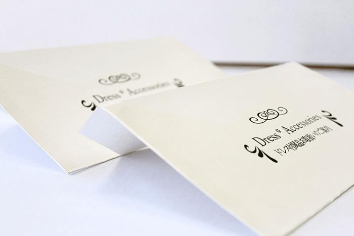 Sản phẩm danh thiếp làm từ giấy Couche