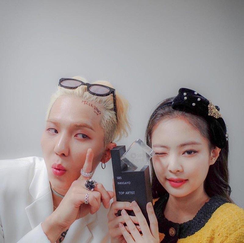 BlackPink Jennie - Winner Mino là couple nữ được đẩy thuyền tại Hàn