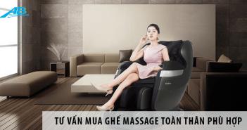 Tư Vấn Mua Ghế Massage Toàn Thân Phù Hợp